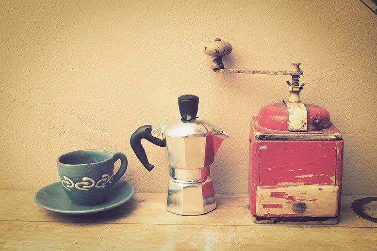 historia de las cafeteras